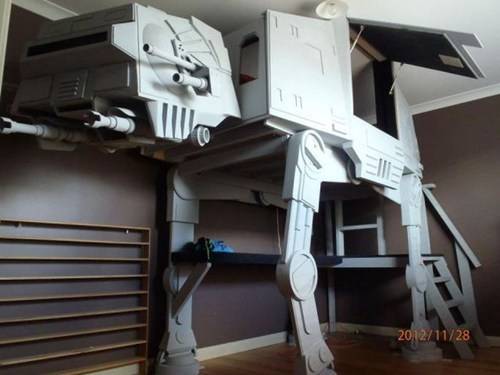 bed,star wars,design,nerdgasm,at at,g rated,win