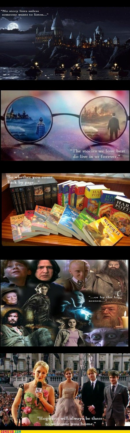 Harry Potter movies books Hogwarts
