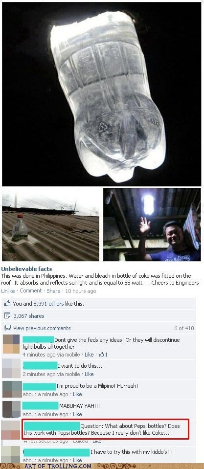 pepsi philippines invention lightbulb - 6954485248