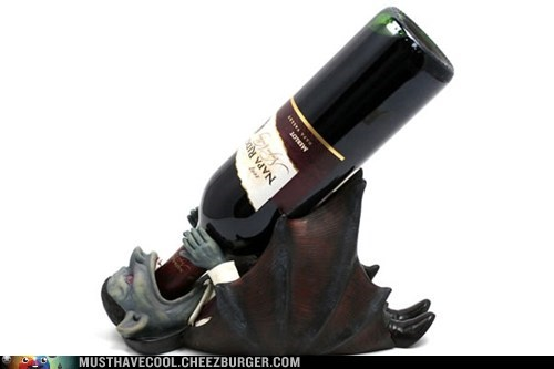 bottle drink alcohol vampire wine holder - 6954617856