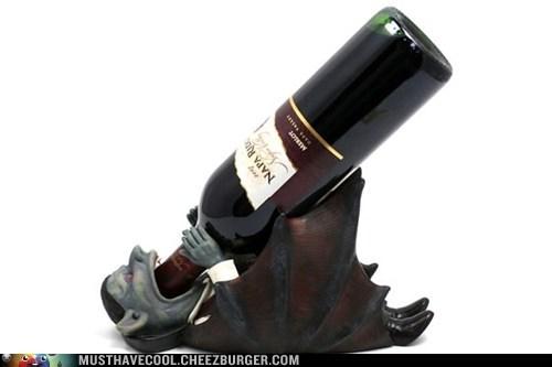 bottle drink alcohol vampire wine holder - 6954617856