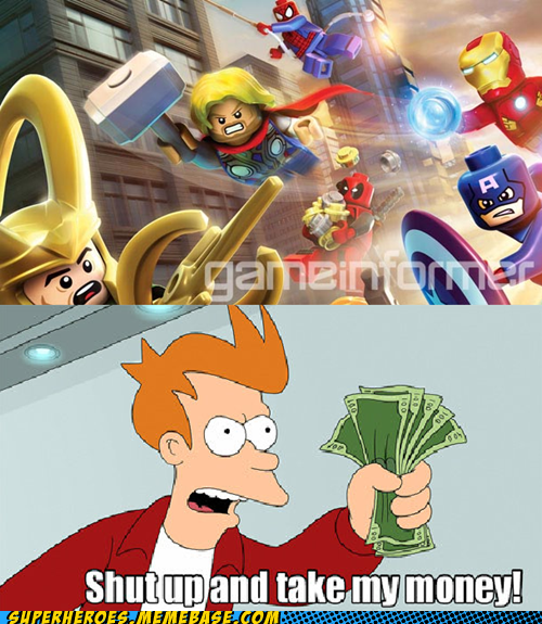 marvel DC video games fry