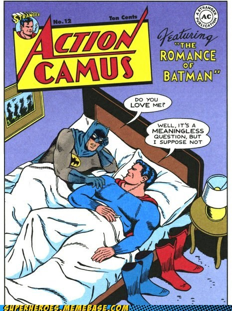 ouch love batman superman - 6954897664