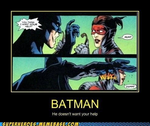 help,slap,batman,no