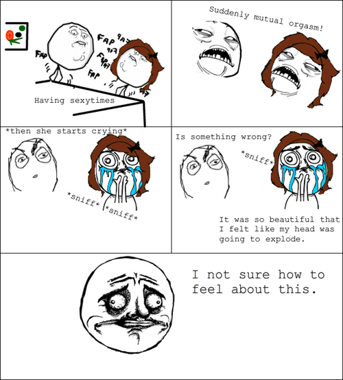 what have I done sexytimes rage comic crying - 6955124480