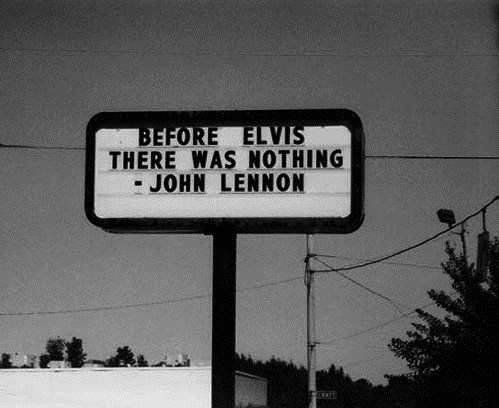 sign john lennon Elvis Presley - 6955141632