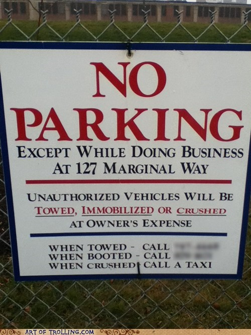 sign,parking