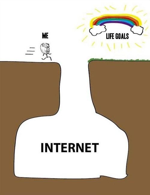 internet cliff life goals - 6955337728