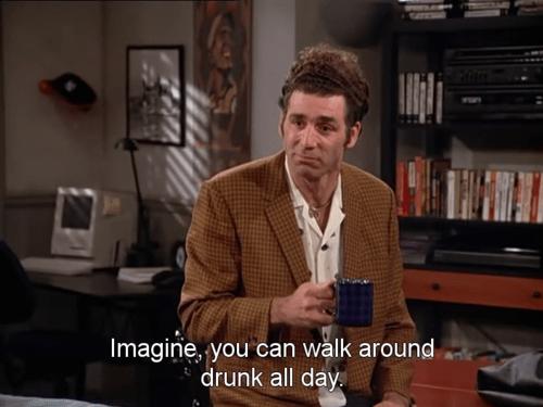 drunk imagine kramer seinfeld