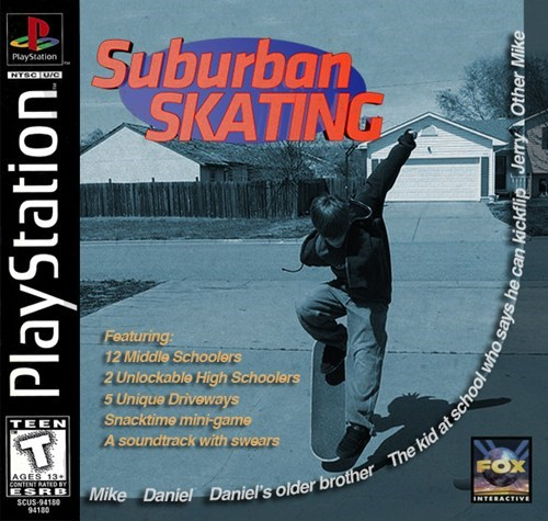 playstation,ollie,skaters,suburban skateboarding