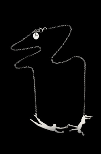 necklace pendant trapeze chain - 6956207616