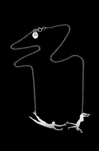necklace pendant trapeze chain - 6956207616