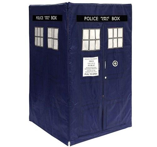 tent tardis nerdgasm doctor who - 6956335360