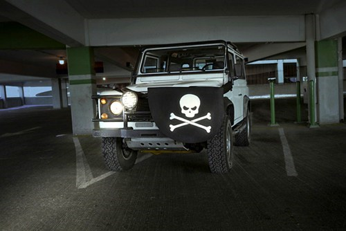 eye patch cars Pirate modification - 6956343296
