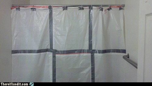 trash bag shower curtain plastic wrap - 6956918272