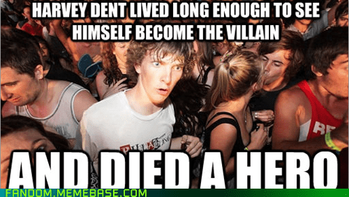 harvey dent superheroes batman sudden clarity clarence - 6957245184