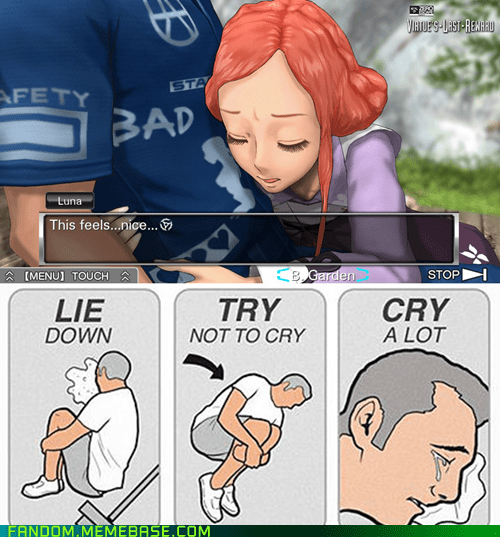 try not to cry zero escape video games virtue's last reward - 6957768960