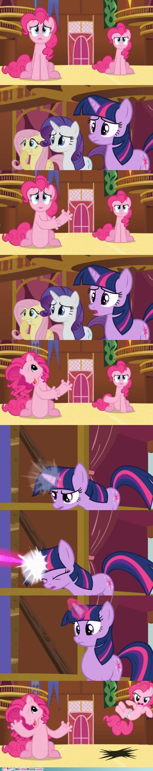 bolt of stone,comics,pinkie pie,comic,imposter