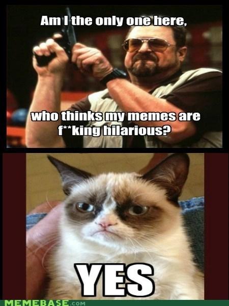 Memes response Grumpy Cat - 6958513920