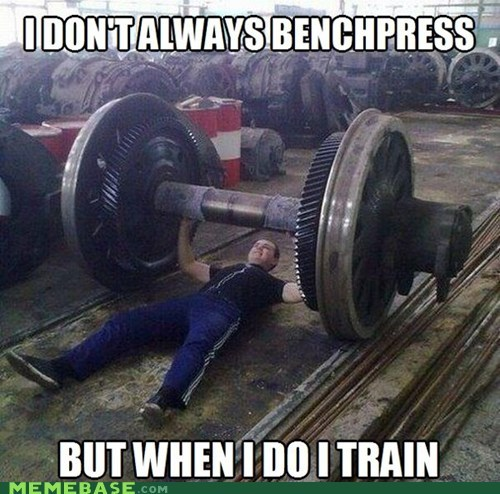 bench press the most interesting man in the world puns lift train - 6958632960