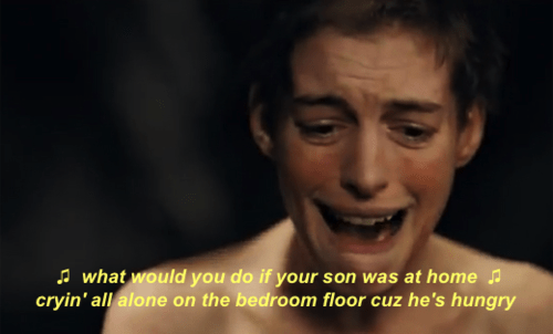 city high,fantine,anne hathaway,song,wrong lyrics,Les Misérables