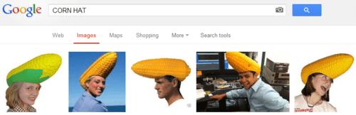 corn head hats google