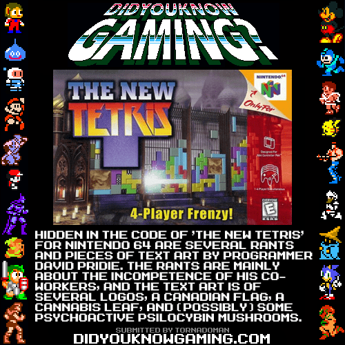 did you know,rant,tetris