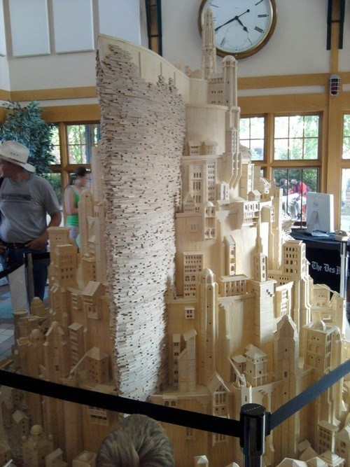 minas tirith Lord of the Rings toothpick nerdgasm - 6959545856