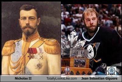 hockey jean sebastian giguere TLL Nicholas II - 6959636224