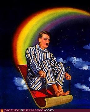 magic carpet ride,rainbow,hitler