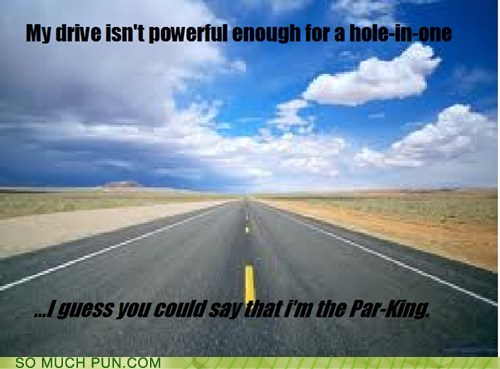 drive golf unrelated things lolwut driving hole double meanings parking par - 6959805952