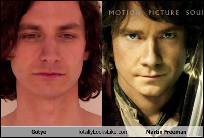 Martin Freeman,TLL,The Hobbit,gotye