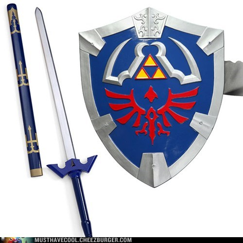 shield legend of zelda sword - 6960649728