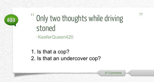 paranoid cop driving stoned undercover cop - 6961016832