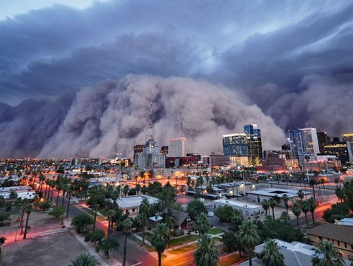 dust storms phoenix Haboob arizona - 6961186048