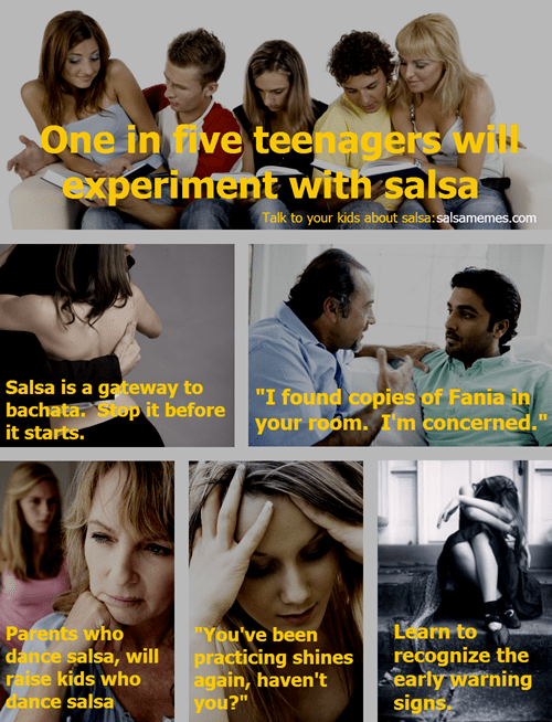 1 in 5 Teenagers Will Experiment With Salsa