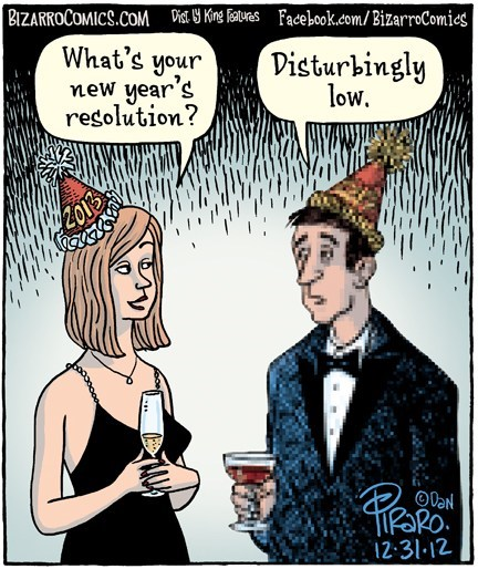 question low new years answer new years resolution literalism resolution double meaning