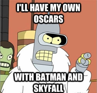 bender animation TV futurama oscars 2013 funny - 6961434112