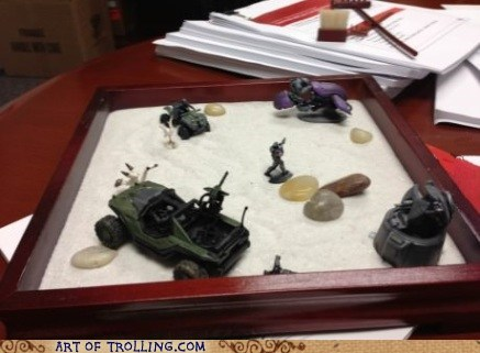 action figures zen garden toys halo fixed