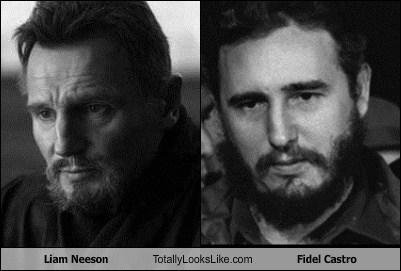 cuba liam neeson TLL Fidel Castro - 6961485568