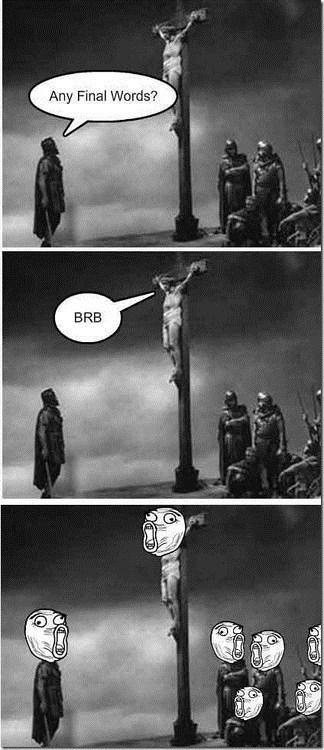 jesus sacrelidge lol brb classic - 6961507328