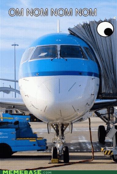 om nom nom plane terminal - 6961599744