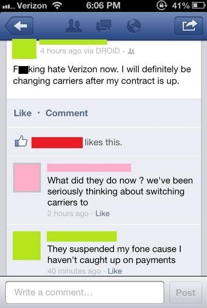 verizon smartphones phone contracts failbook g rated