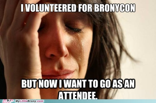 brony problem Memes First World Problems bronycon - 6961738496