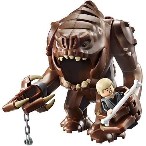 scary rancor star wars lego return of the jedi monster - 6961967872