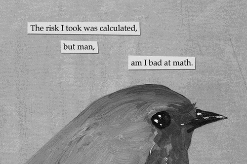 idiots,calculated risk,math