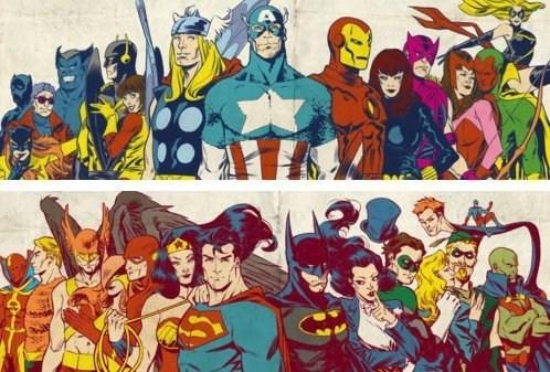 art,justice league,avengers