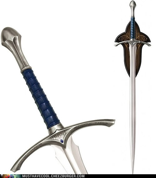 glamdring Lord of the Rings gandalf The Hobbit sword - 6962156288