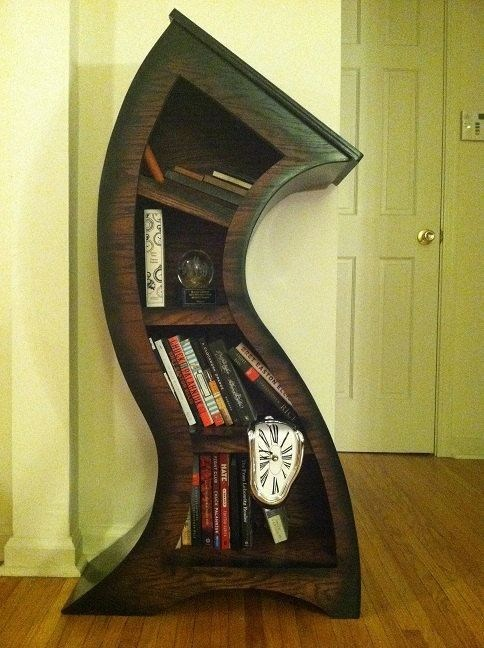 bookshelf,melting,design,surreal