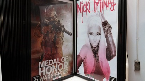 singer,poster,placement,nicki minaj,fail nation